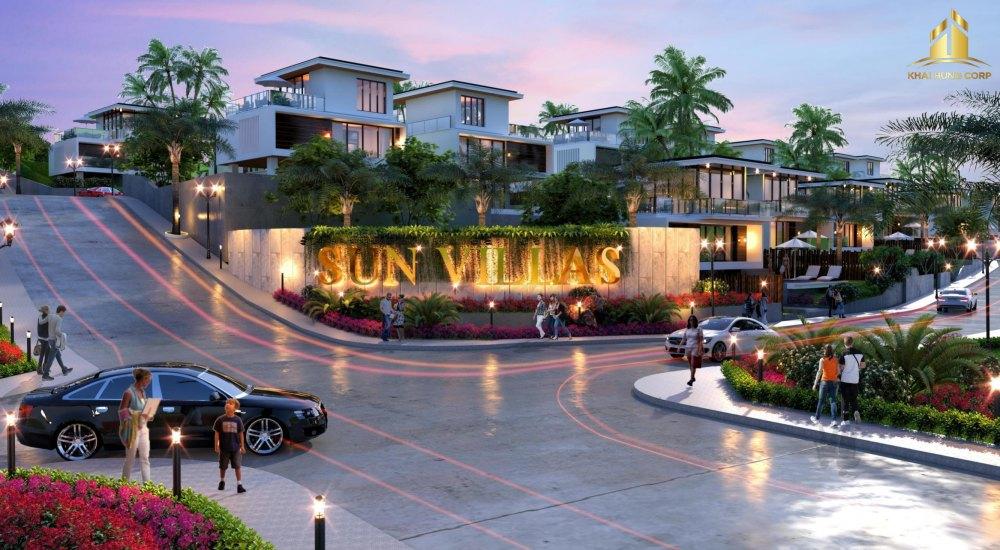 Sun Villas là phân khu giai đoạn 01 của dự ánSun Valley