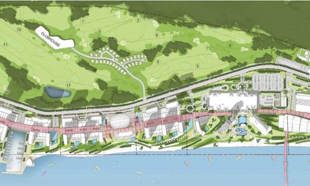 Vị trí dự ánEdenia Resort Hồ Tràm Bà Rịa