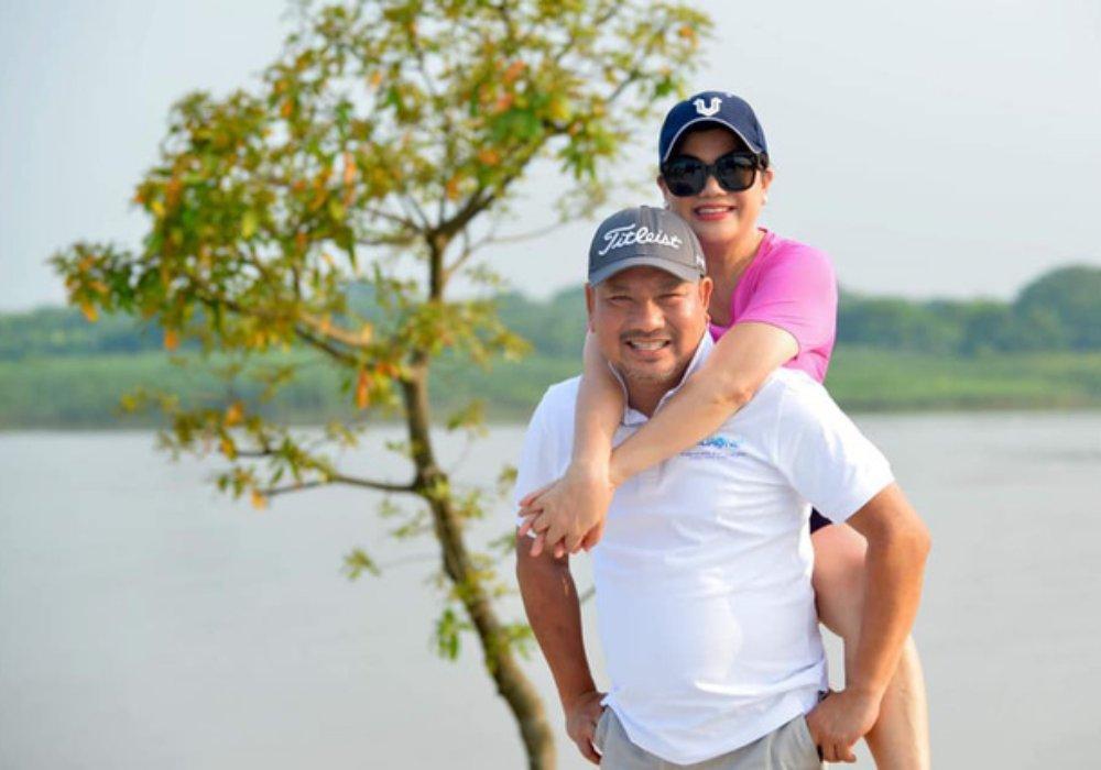 Bà Đỗ Thị Kim Liên (Shark Liên) và chồng là ông Lê Toàn