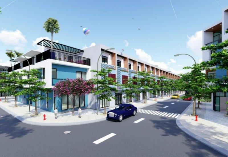 Mẫu thiết kế nhà phố tại dự án INCO City Bình Dương