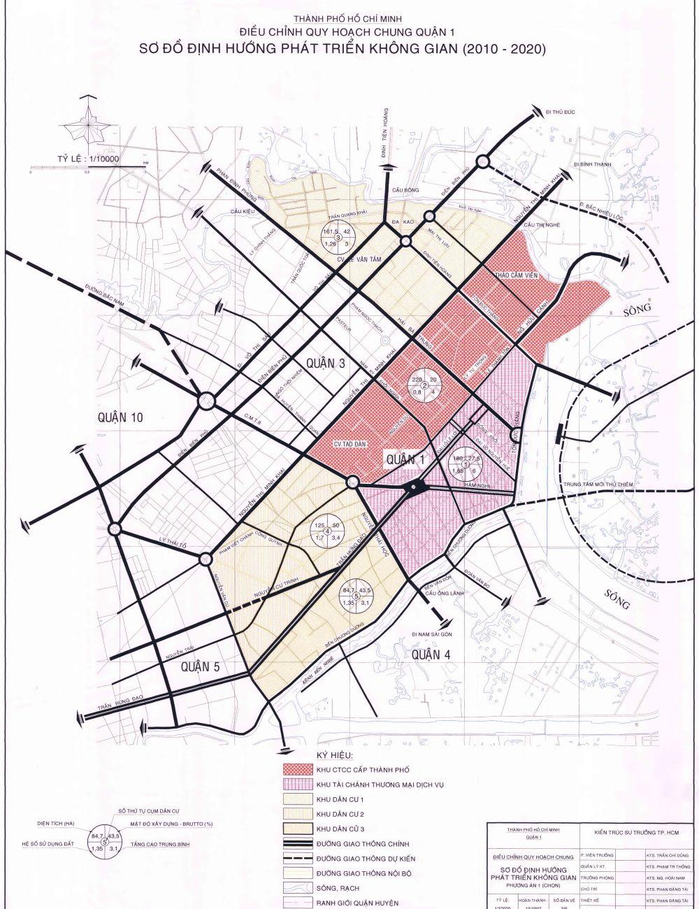 25134812 ban do quan 1 nam 2020 - Bản đồ tổng thể trung tâm TP. Hồ Chí Minh