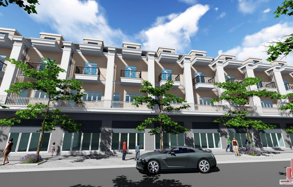 Thiết kế nhà phố VietSing Phú Chánh Bình Dương