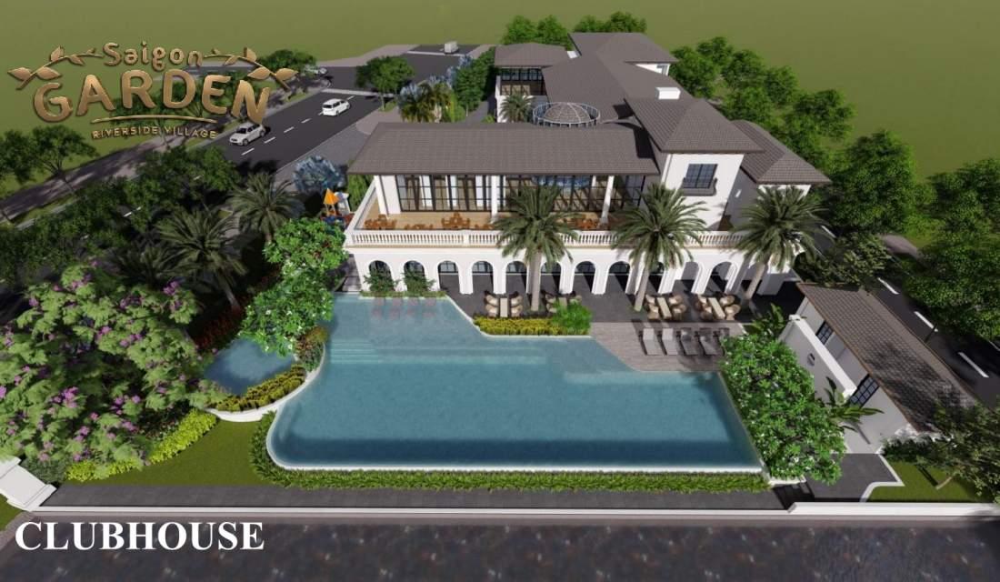Hồ bơi dự án Saigon Garden Riverside Village