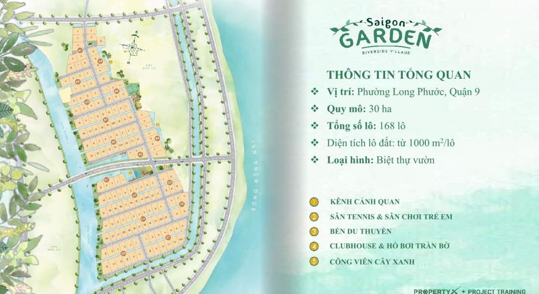 Mặt bằng dự án Saigon Garden Riverside Village