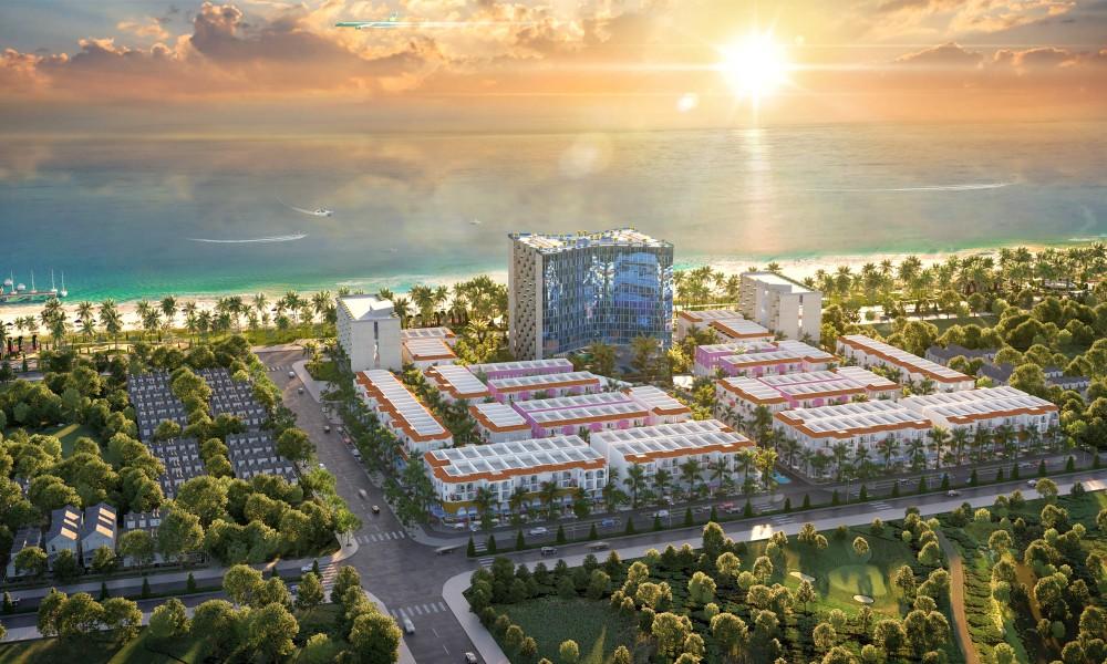 Phối cảnh dự án Kallias Complex City Phú Yên