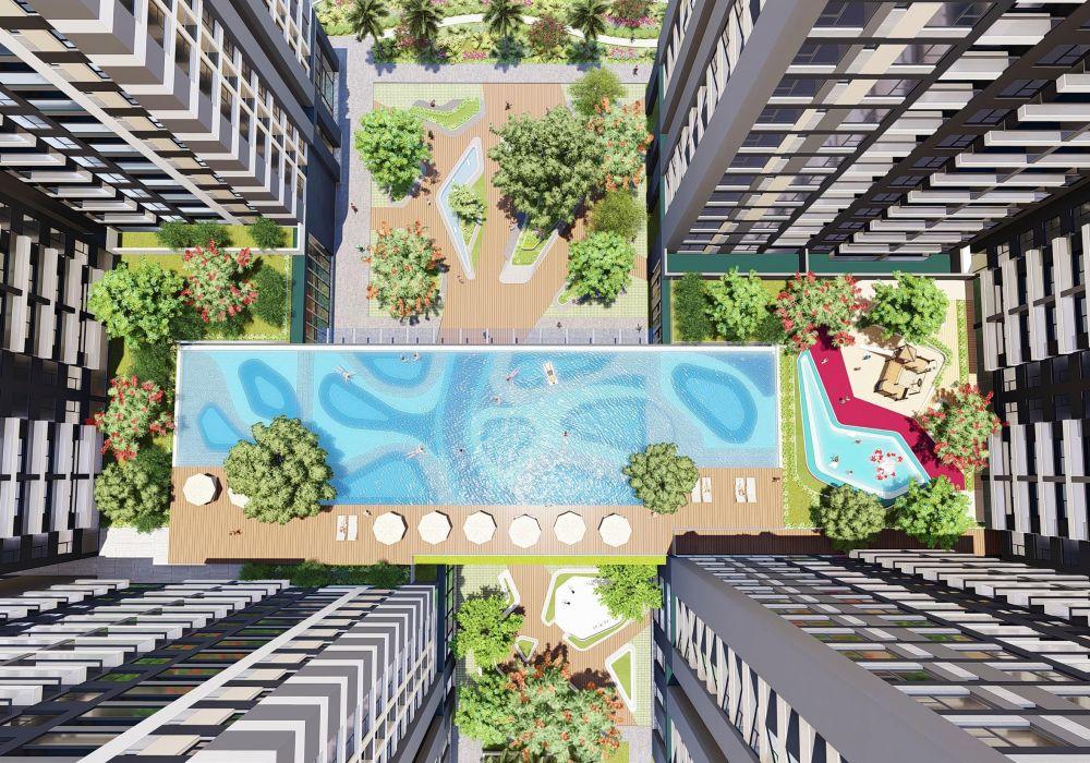Hồ bơi căn hộVũng Tàu Pearl Hưng Thịnh