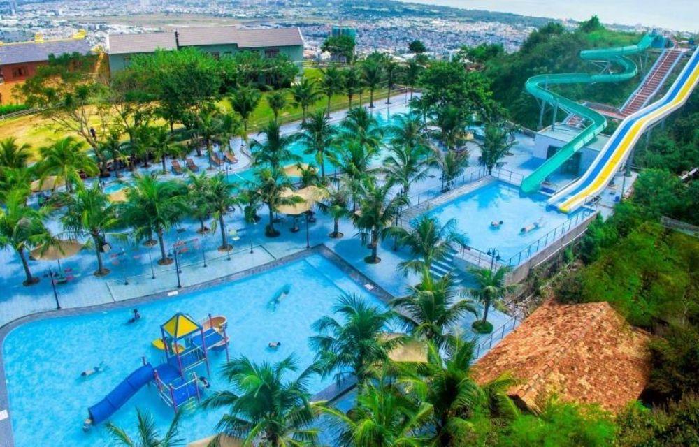 Hồ bơi căn hộ Vũng Tàu Pearl