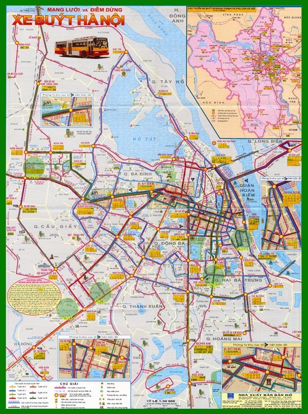 28211153 ban do xe buyt ha noi - Bản đồ TP Hà Nội hiện tại có 30 đơn vị hành chính cấp huyện,