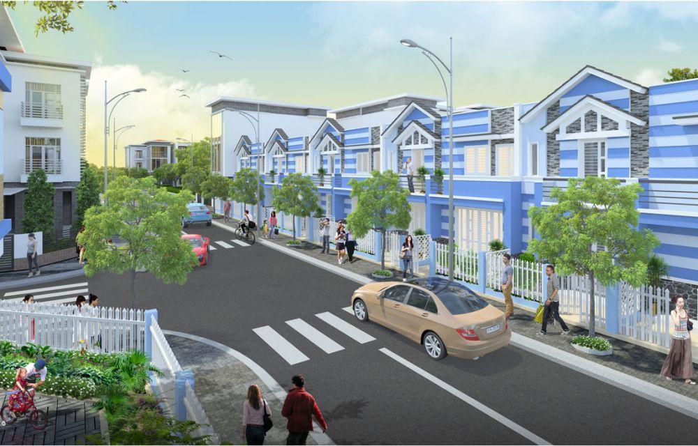 Hạ tầng dự án đất nền Phúc Hưng Golden Bình Phước