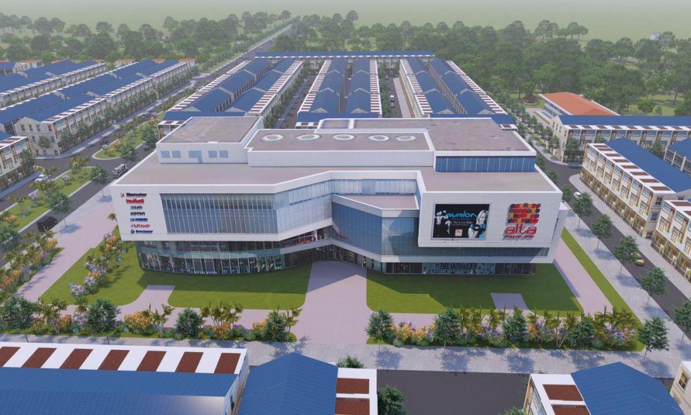 Phối cảnh trường học dự ánPhúc Hưng Golden Bình Phước