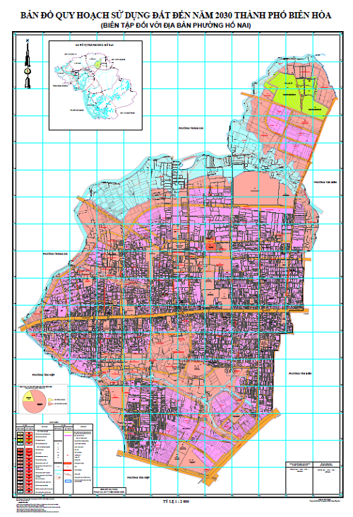 Bản đồ quy hoạch phường Hố Nai