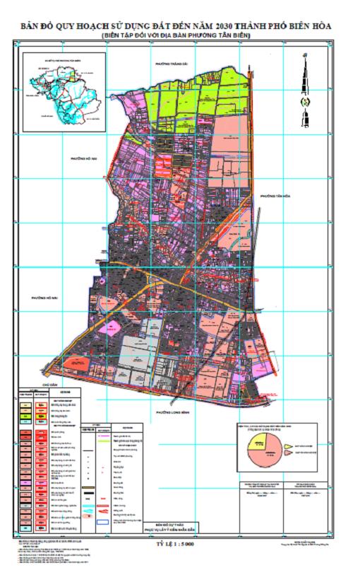 Bản đồ quy hoạch phường Tân Biên