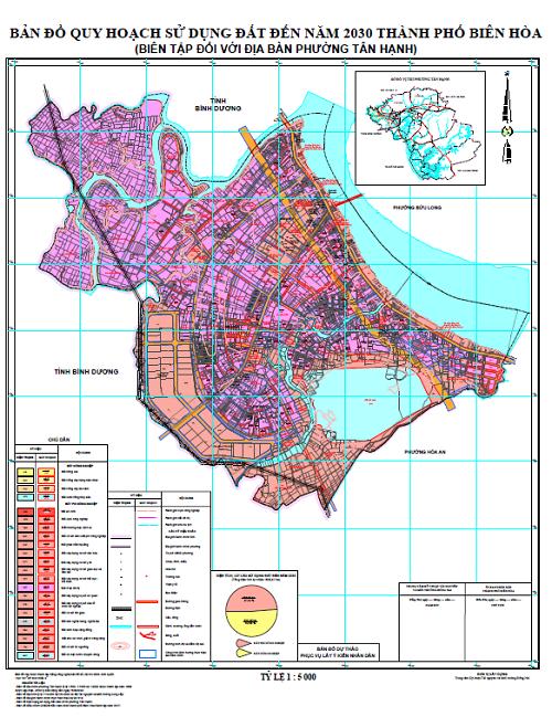 Bản đồ quy hoạch phường Tân Hạnh