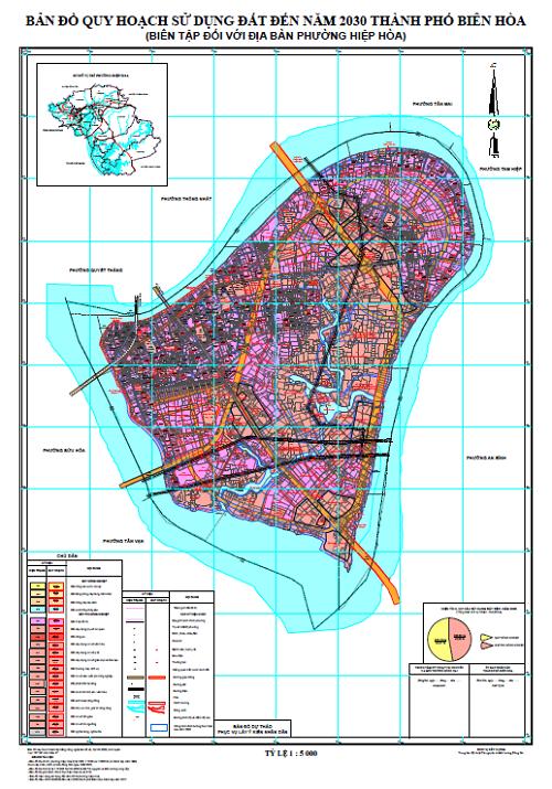Cập nhật mới nhất Bản đồ quy hoạch chi tiết Thành Phố Biên Hòa năm 2021 2